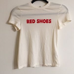 """""""RED SHOES"""" T-Shirt"""